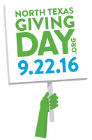, North Texas Giving Day is September 22, 2016